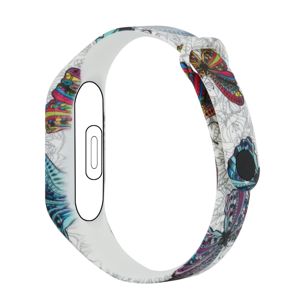 (XM2HS) SMP-0034 Silicone Strap for Xiaomi Mi Band 2 mi band 2 bracelet mi band 2 strap Wristband Replacement Miband 2 Strap цена