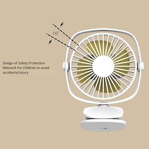 Image 2 - Mini Usb Desktop Fan Two Way Rotary 360 Degrees Portable Mini Desktop Cooling Fan Personal Quiet Fan