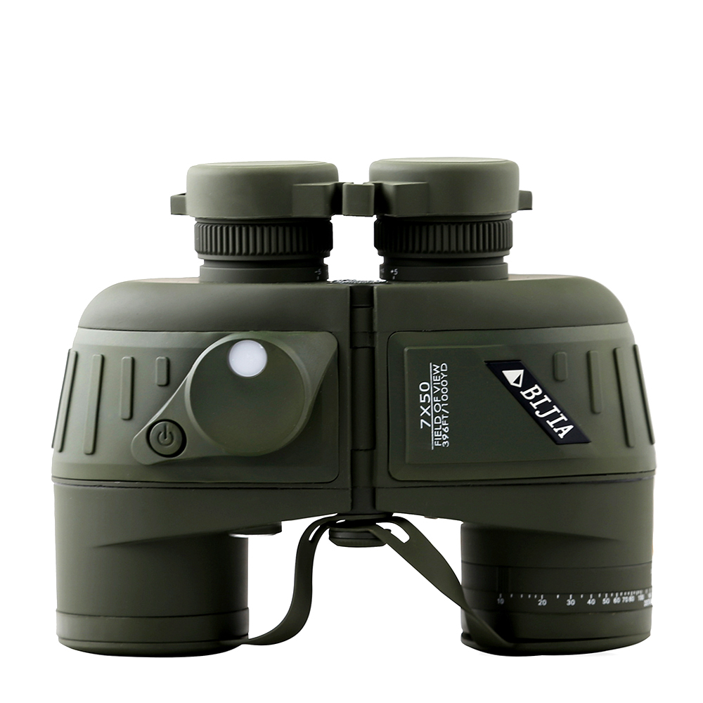 BIJIA 7 × 50 ハイパワー高解像度防水耐衝撃マリン双眼鏡古典的な軍事双眼鏡コンパスレチクル  グループ上の スポーツ & エンターテイメント からの 単眼鏡 / 双眼鏡 の中 1