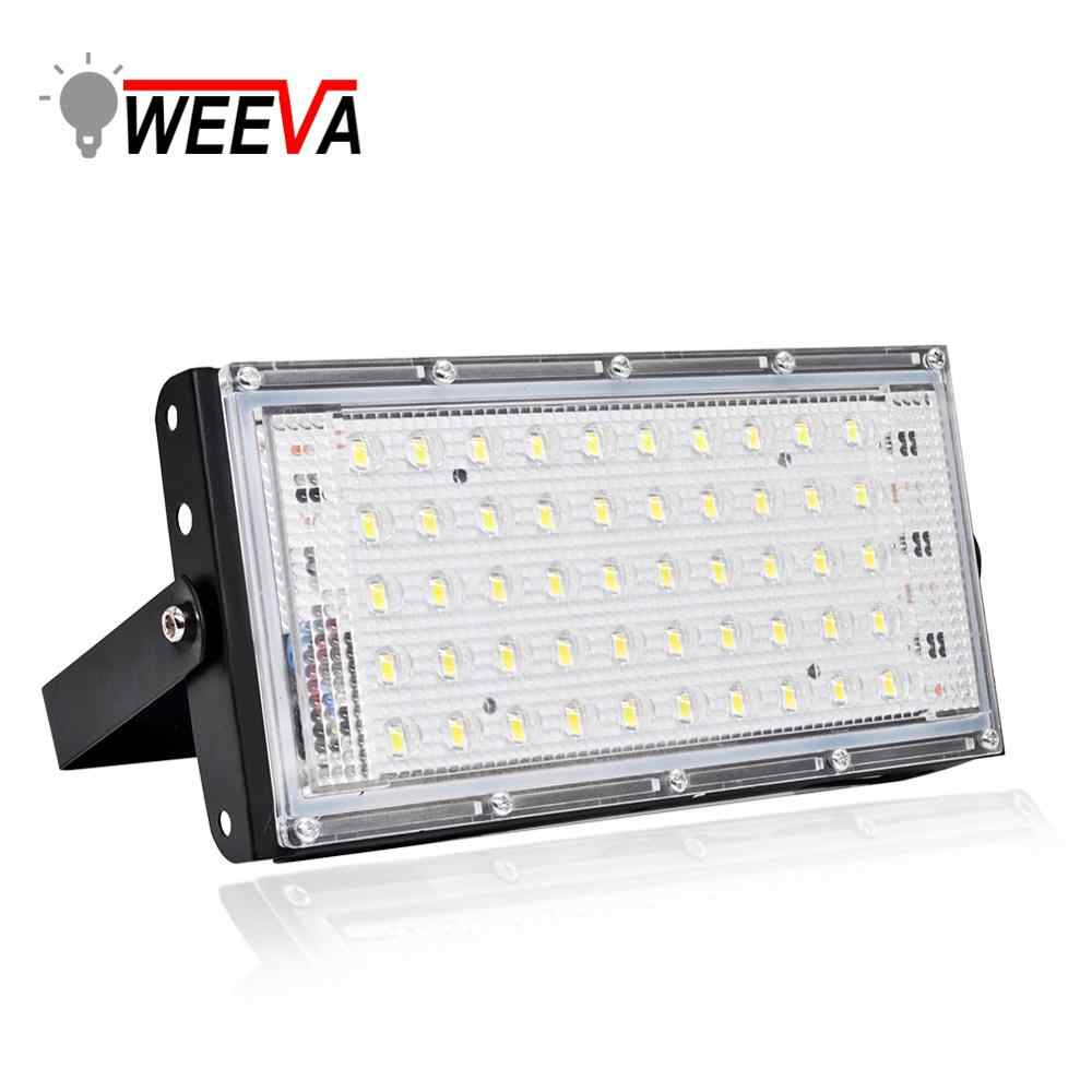 Led Floodlight 50W Waterproof IP65 Outdoor LED Reflector Light Garden Lamp AC 220V 240V Spotlight Street Lighting