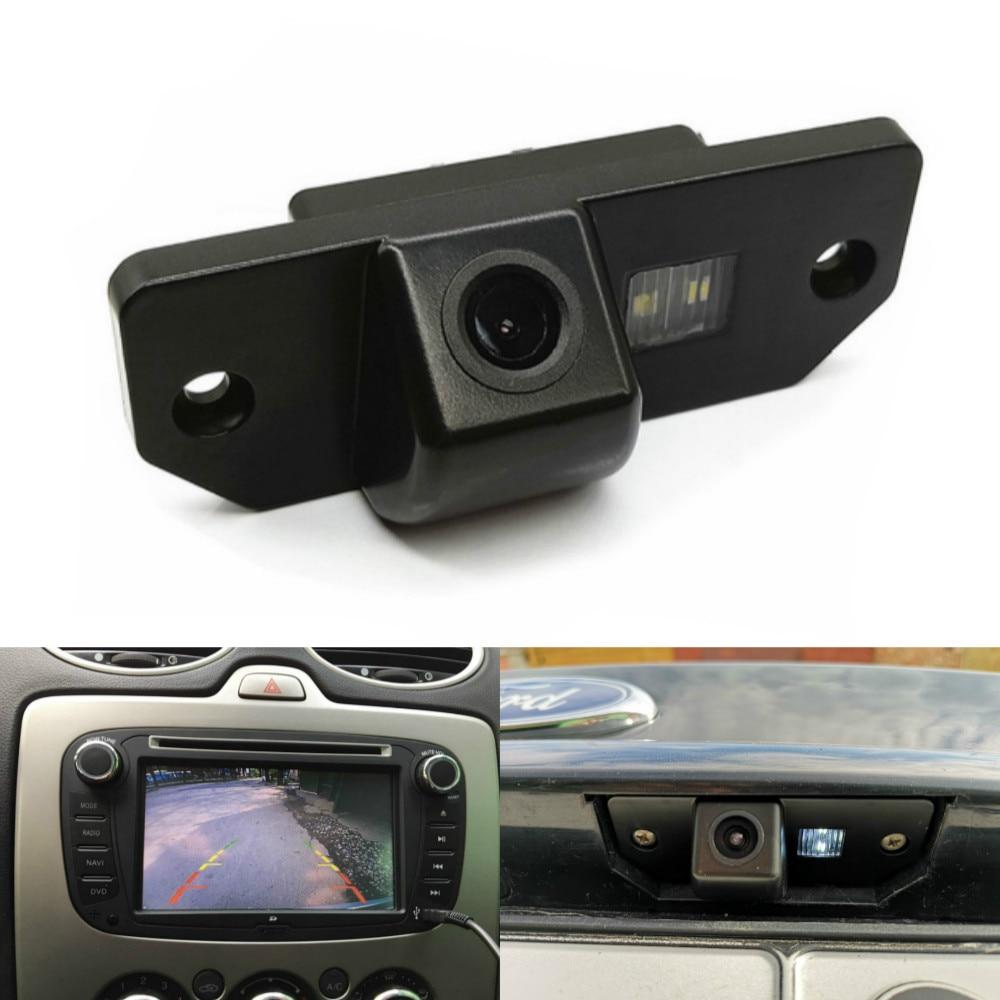 Leemsp Waterproof HD Night Vision Car Rear View Camera Backup Reverse Parking Camera For Ford Focus 2 Sedan 2005-2011 C-Max