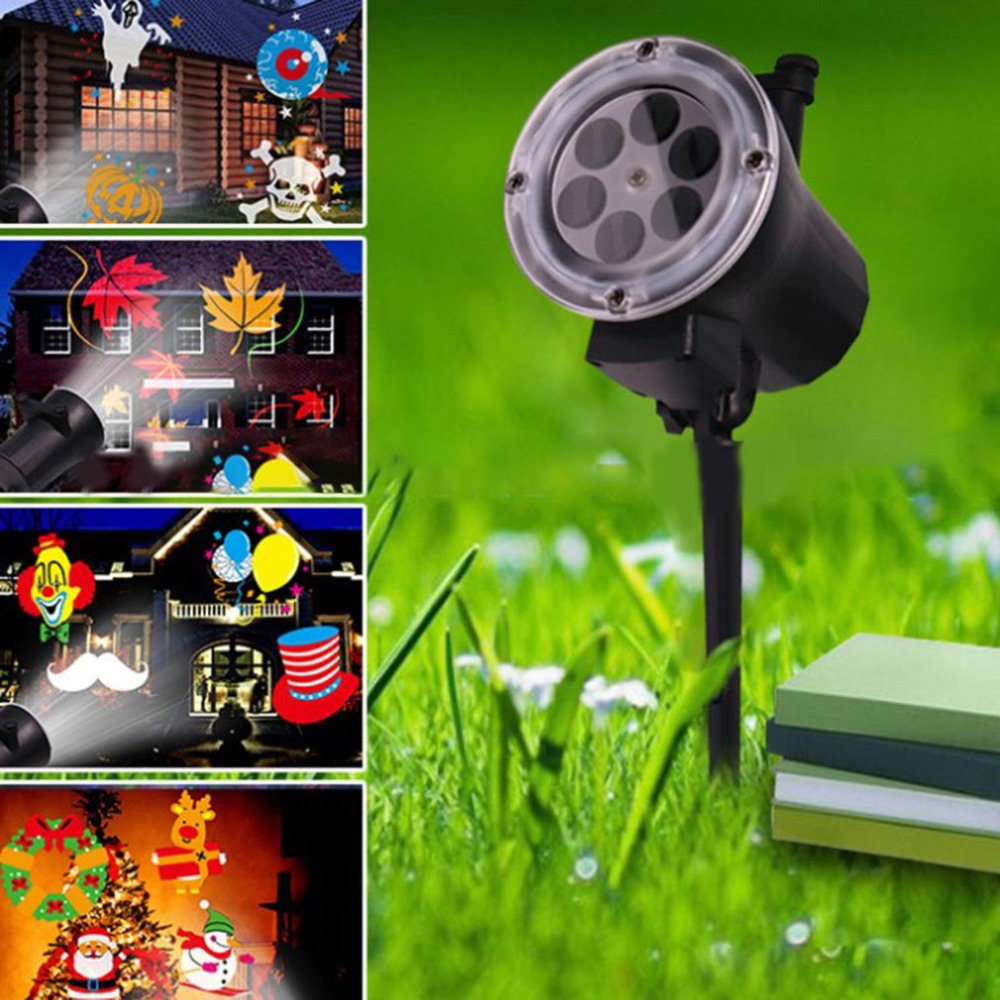 New Arrival High Light LED Garden Projector for Christmas Party Festival Home Outdoor Decor for EU/US/UK/AU Plug Supplier Sale beautiful alumium ip67 outdoor eu us uk plug tree garden party festival christmas decoration green red mini led laser light