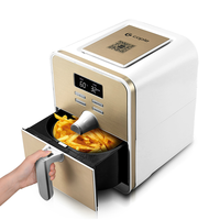 WUXEY 3rd Generation Intelligent Electric Air Fryer Home Multifunctional No Oil Air Fryer Golden Fries Machine
