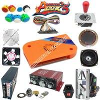 DIY Arcade Parts Bundles Kit 680 In 1 Pandora S Box Joystick Button Microswitch For 2