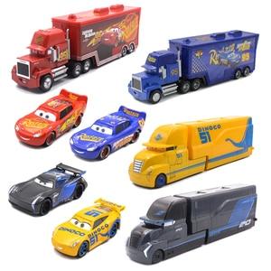 40 Styles Disney Pixar Cars 3 Lightning McQueen Jackson Storm Ramirez Mack Uncle Truck Metal Diecasts Toy Vehicles Kids Car Gift