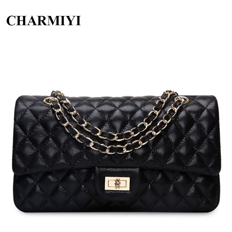 CHARMIYI 2018 luxury genuine leather women messenger bags Famous brand designer High quality Casual women shoulder crossbody bag 2018 brand designer women messenger bags crossbody soft leather shoulder bag high quality fashion women bag luxury handbag l8 53