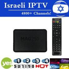 Hebreo Sistema Linux Mag250 IPTV IPTV IPTV Caja Sí Israelí Amos Set Top Box STi7105 RAM 256 Mb Procesador IPTV de Alta Calidad CAJA