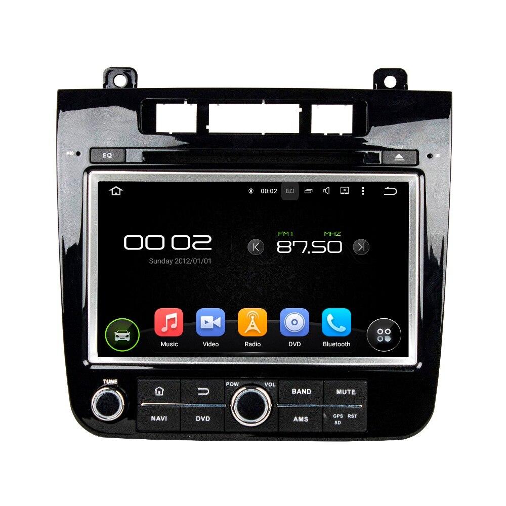 Otojeta lecteur dvd de voiture pour VW TOUAREG 2010-2014 octa base android 6.0 2 GB RAM auto stéréo gps/radio/dvr/obd2/tpms/caméra