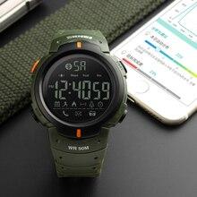 Smart Watch Men SKMEI Brand Pedometer Remote Camera Calorie Reminder Bluetooth Smartwatch Men Sport Watches relogio masculino