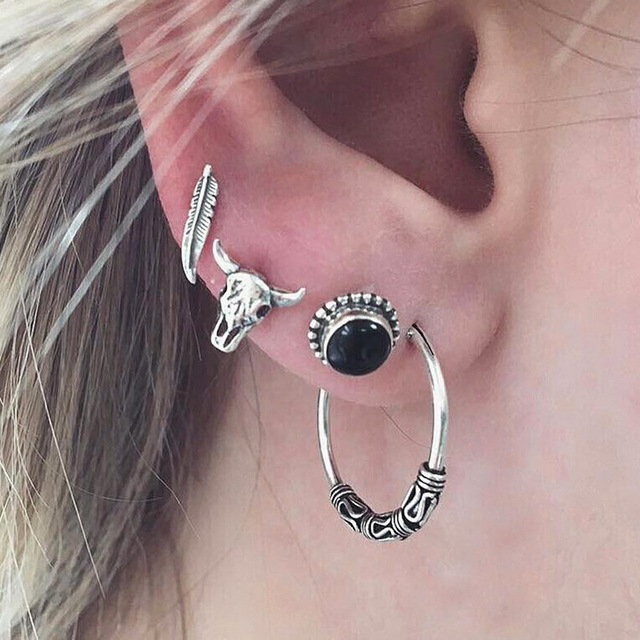 Crazy Feng Vintage Earring...