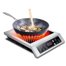 3500W Induction Cooker 1 Pcs Commercial/Household Large Power Touch Control Electromagnetic Stove Cooktop