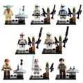 8pcs/set Star Wars figures The Force Awakens Action Figures Bricks Compatible Lepin  building bricks  toy Legoes Speelgoed Gift