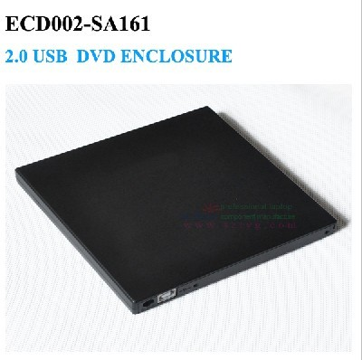 USB 2.0 gabinete Externo blu-ray burner portátil plug and play viagem facilmente Nenhum Driver ECD002-SA161