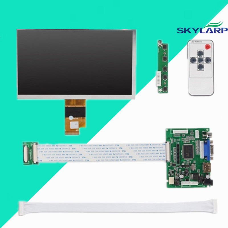 7 .0 Inch 40pins 1024(RGB)*600 TFT EJ070NA-01J LCD Screen Display With Remote Driver Control Board 2AV HDMI VGA for Raspberry Pi skylarpu 7 inch 1280 800 lcd screen ips screen with remote driver control board 2av hdmi vga for raspberry pi without touch