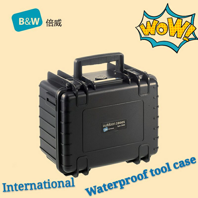 Tool case toolbox Impact resistant sealed waterproof protective case 246 175 152mm security tool equipment with