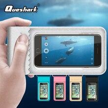 6 дюймов водонепроницаемая сумка для дайвинга Чехол для мобильного телефона подводный сухой Чехол для каноэ каяк рафтинг плавание дрейфующий пляж