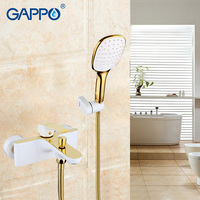 GAPPO 1set High Quality Waterfall Bath Sink Faucet Torneira Mixer Restroom Sink Shower Faucets Tap Grifo