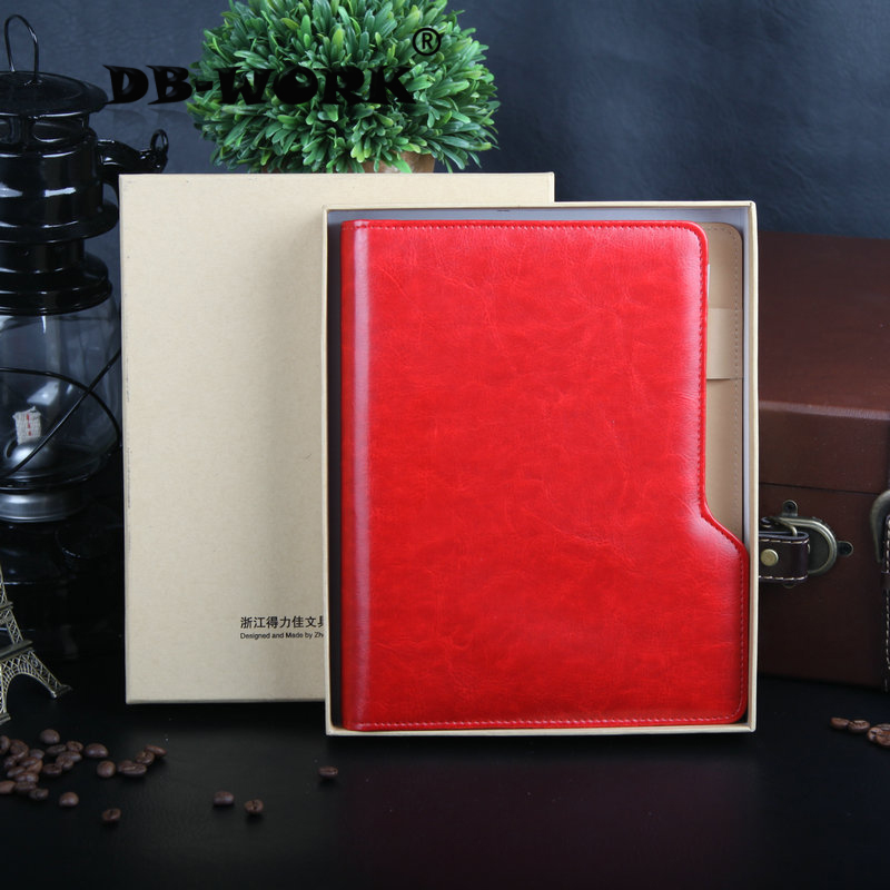 2017 A high-grade manager clamp the loose leaf notebook  business notebook Office gift A birthday present