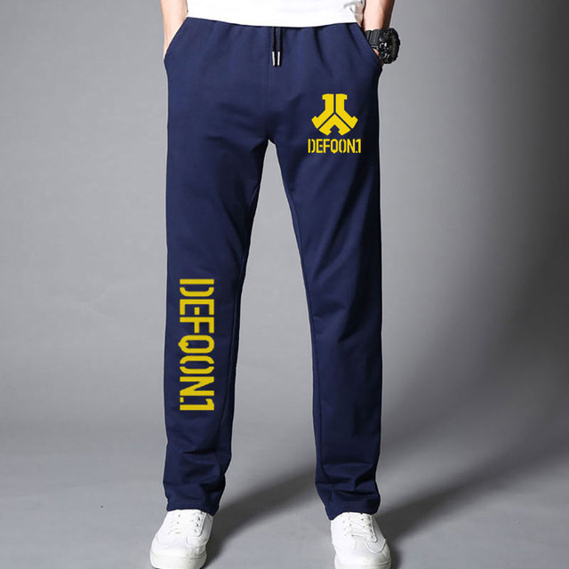 New Autumn Mens Joggers Defqon 1 Fitness Casual Joggers Sweatpants Bottom Music Concert DJ For Cool And Fashion Pants For Men 4