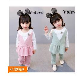 2017 children baby summer outfit set toddler kids clothing set tracksuit clothes set Tshirt+shorts цена 2017