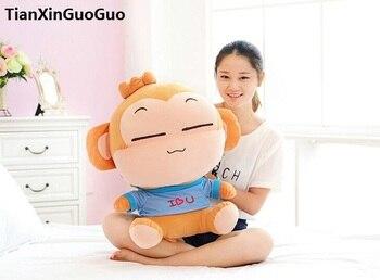 100% new plush toy large 60cm yoyo boy monkey soft doll throw pillow birthday gift b0658