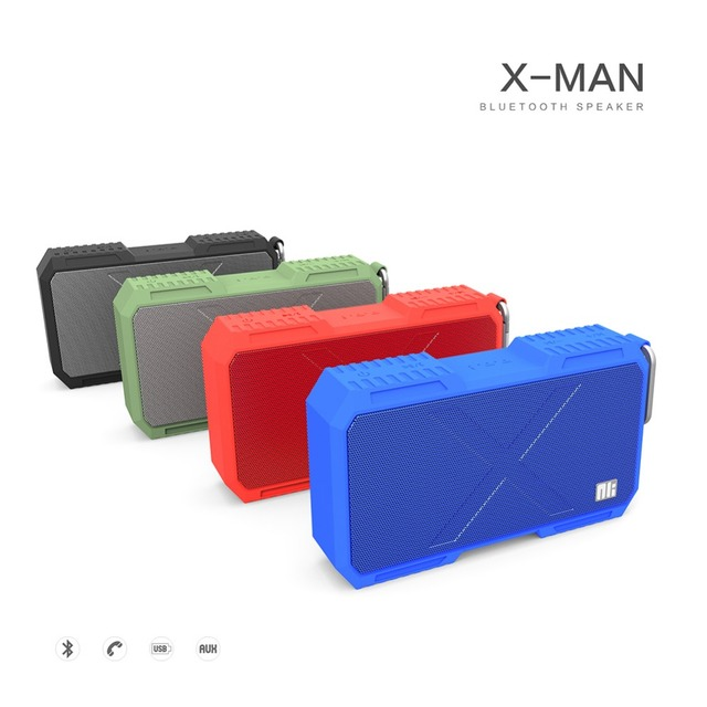 Nillkin IPX 4 Waterproof Bluetooth speaker phone charger Music surround wireless speaker wire with 5200mah power bank for iPhone