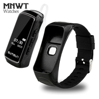 MNWT Watches New Additional headset function Women IP68 Waterproof Heart Rate Blood Pressure Monitor Alarm Clock Smart Band Men