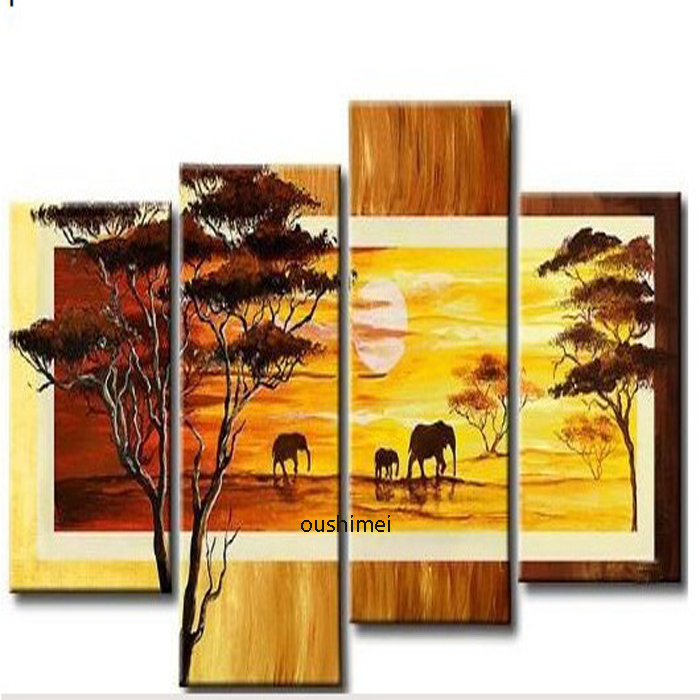 World Map Canvas Painting Vintage Oil Paint Africa South America Map ...