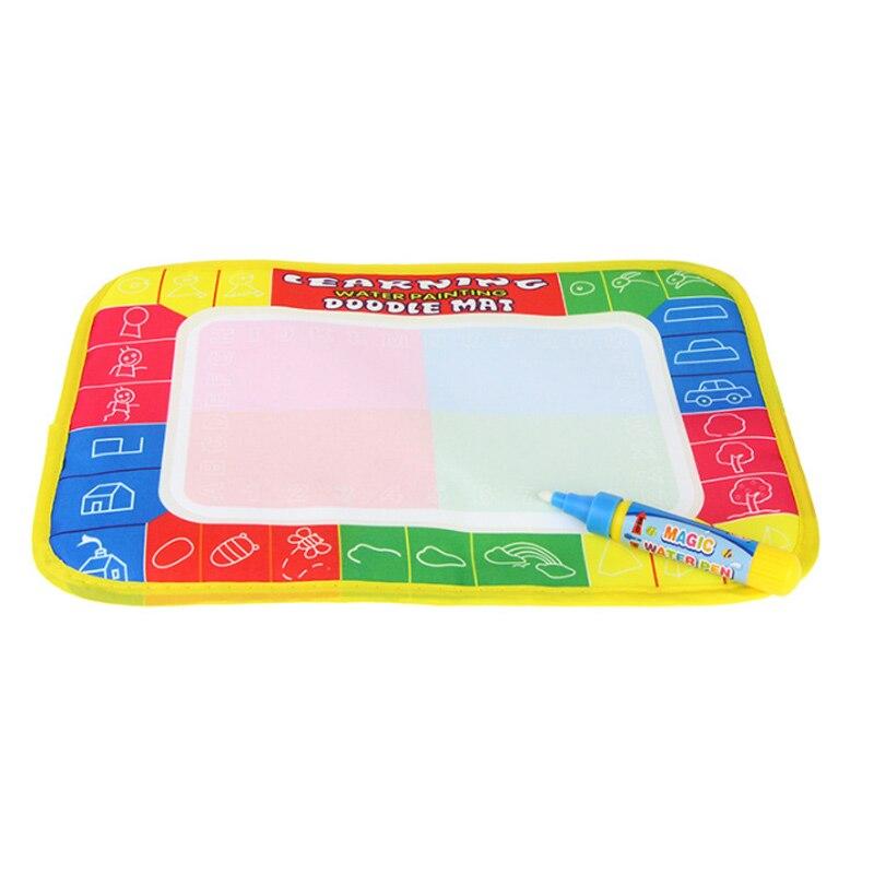 Дети граффити Pad и каракули ручки ребенка раннего обучения Развивающие игрушки волшебный акварель Рисования Дети альбом Смешные у