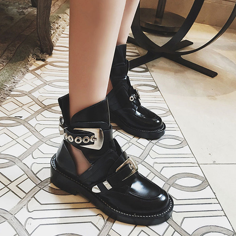 Buy double buckle boot and get free shipping on AliExpress.com 9a8e78797ec0