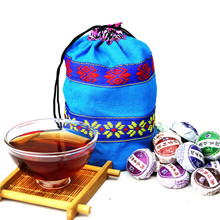 50pcs Different Flavors Chinese Yunnan Puer Tea Pu er Pu'er Tea Bag Gift For Health Care Mini Tuo Cha Chinise Food Puerh Tea(China)