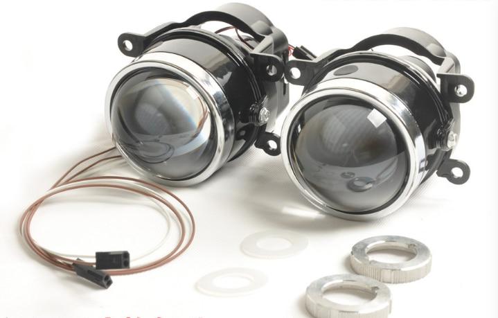Новый лидер биксенон объектив проектора противотуманная фара ярко, как гл L03 с HID лампы d2h по Водонепроницаемый специальный используется для многих автомобилей