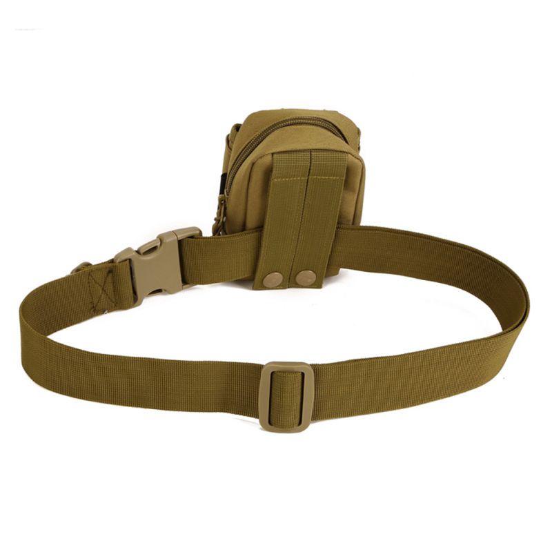 Perkhemahan Mudah Kembara Hiking Taktik Belt Pakai Beg Menunggang Di dalam Nylon Bag Timbalan Tentera Belt Pengancing Pita Hiburan Sukan