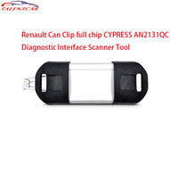 2017 Best Quality Renault Can Clip Full Chip CYPRESS AN2131QC OBDII Auto Diagnostic Interface CAN Clip For Renault Code Scanner