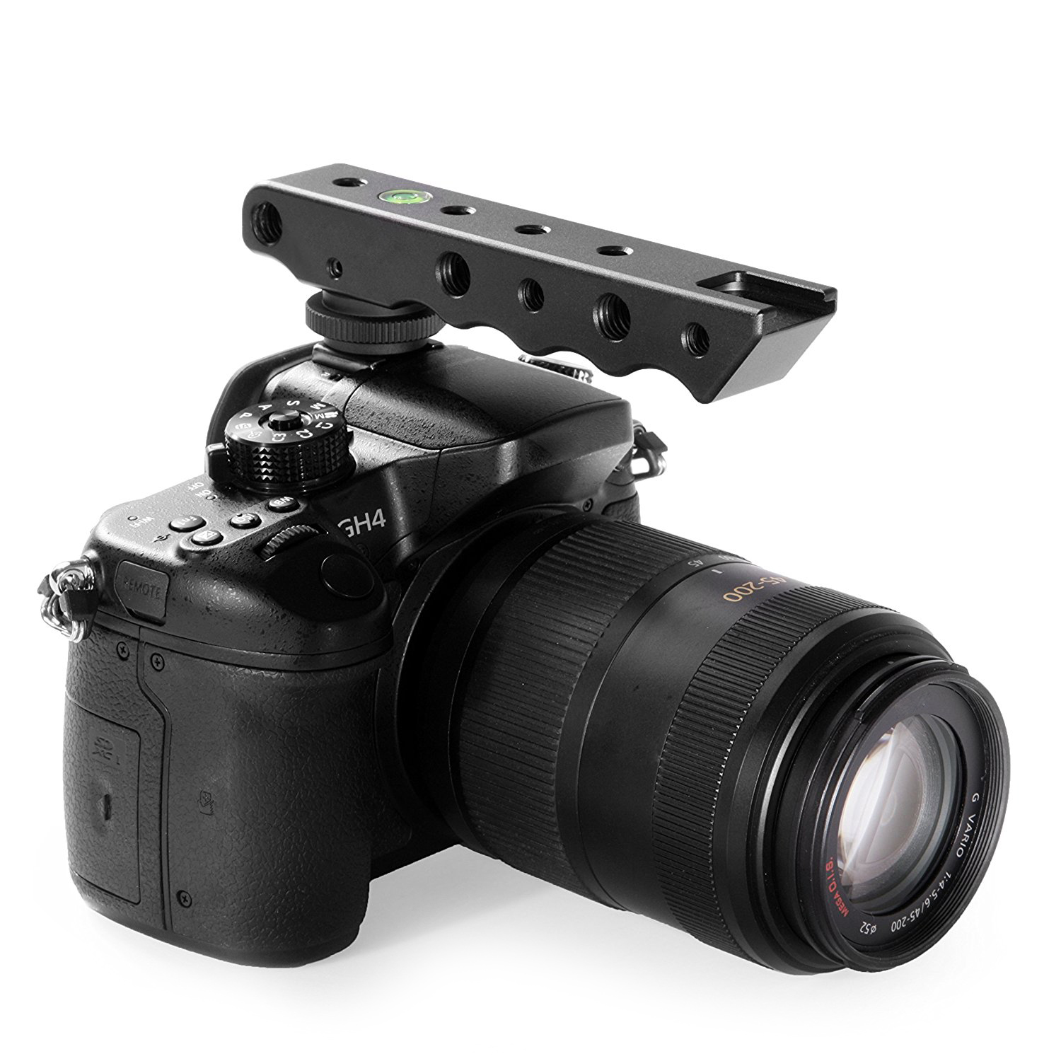 Photo SVH6 Video Stabilizing Top Handle /& Cold Shoe Extender for Canon EOS R SODIAL Nikon Olympus /& Pentax DSLR Cameras