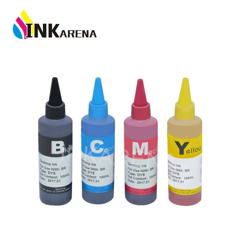 INKARENA Refilled INK Replacement For HP301 301XL 100ml Bottle Dye