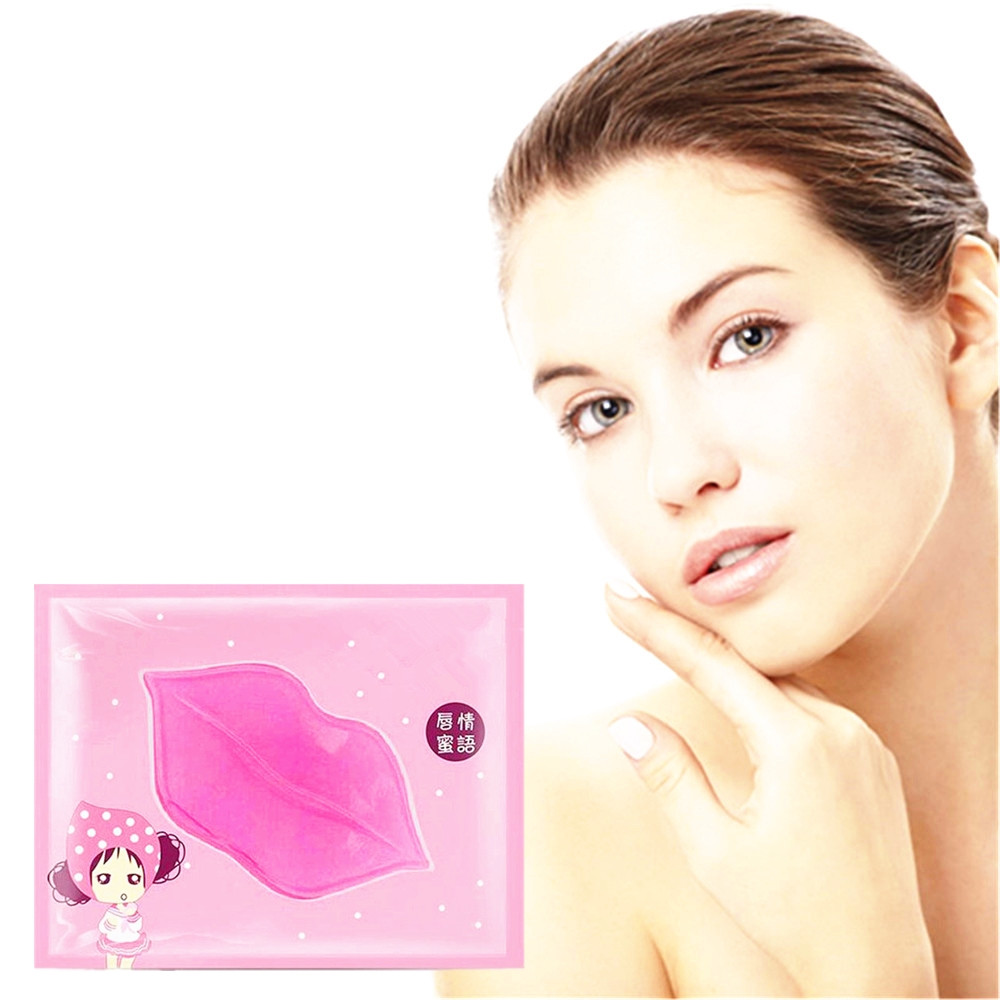 Love Thanks 1 Bag Moisturizing Lip Mask Long-Lasting Nourishing Exfoliating Patches For Lips Care