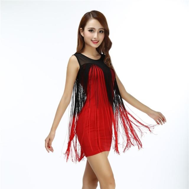 White fringe mini dress for women