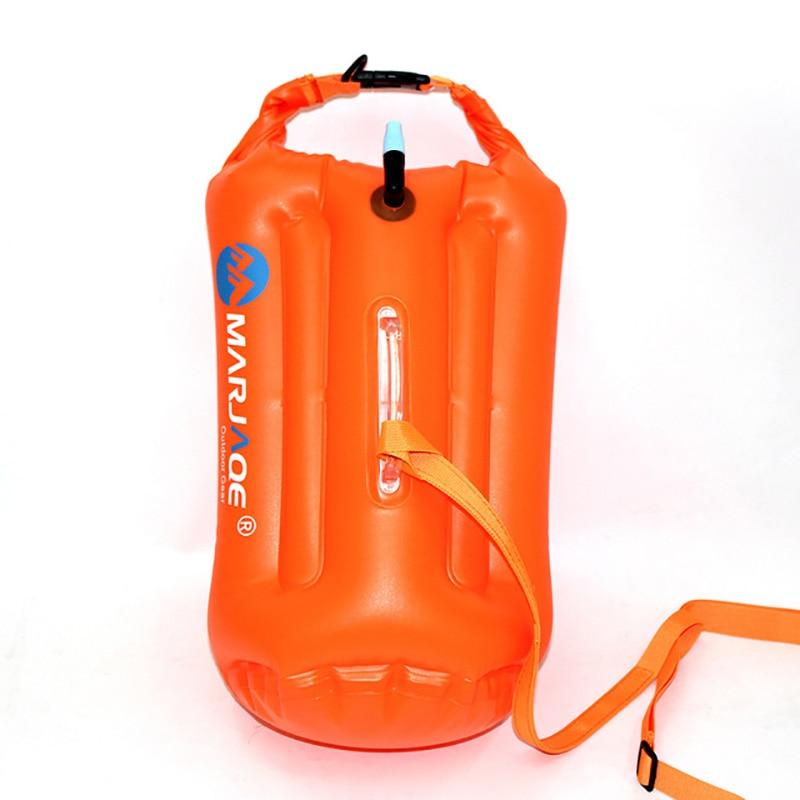 Outdoor Rafting Dry Sack PVC Waterproof Survival Float Buoy Foldable Swimming Inflatable Storage Bag Ocean Pack For Upstream