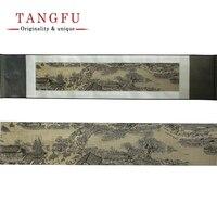 シルクスクロール絵画ヴィンテージ有名な壁絵色プリントタペストリー装飾中国絵画diyの壁ハンガー家の装飾