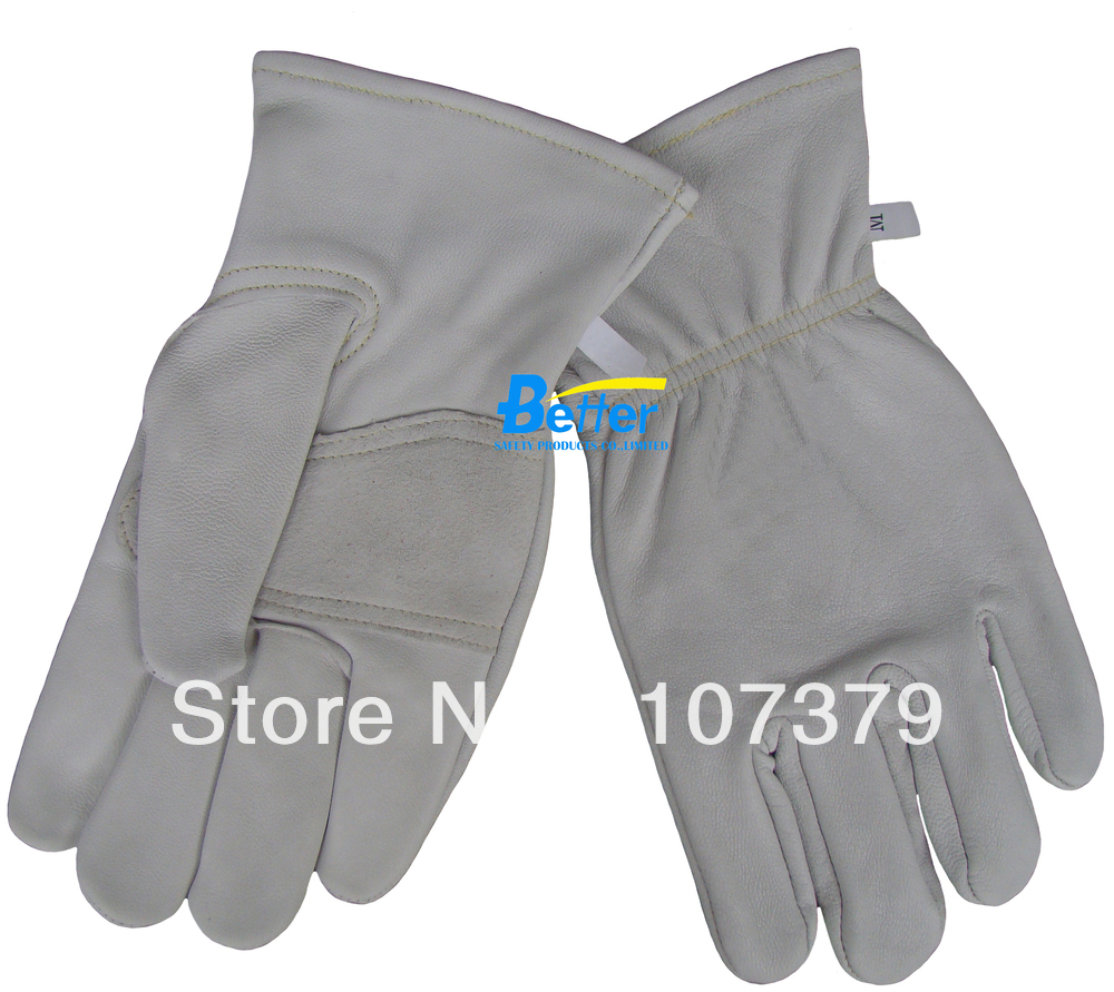 Leather work gloves for welding - Leather Driver Glove Leather Safety Glove Leather Tig Mig Welding Gloves Comfoflex Top Grain Goats Leather