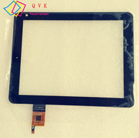 Black 8 Inch For BQ CURIE 2 Tablet Pc Capacitive Touch Screen Glass Digitizer Panel Free