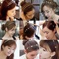 Atacado Coréia Do Sul Pérola Banda Cabeça Hoop Cabelo Fino Cristal Hairpin Cabeça Edição Han Jóias Deter Por Mão De Agosto de 23