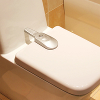 1 Pc New Design Baby Safety Toilet Lock ABS Child Kid Toddler Protection Toilet Lock Free