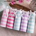 5 unids 2016 caliente venta arco rayó niños ropa interior niños Panties chica Briefs niño traje Calcinha Infantic Menina bargas