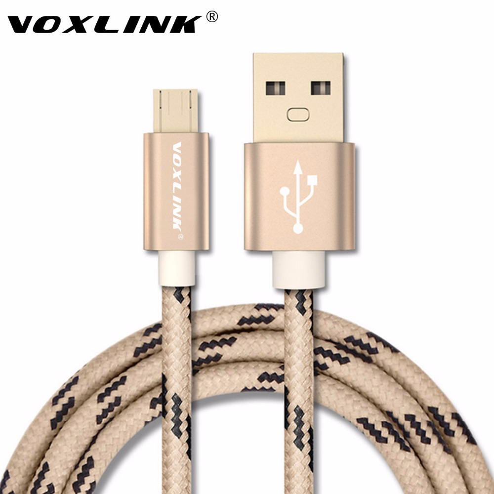 Original 5V 2A Micro USB Cable VOXLINK USB Charger Cable Fors