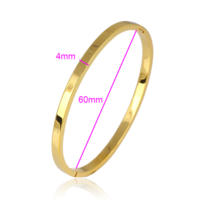 bangles plain gold bangle oval bracelet