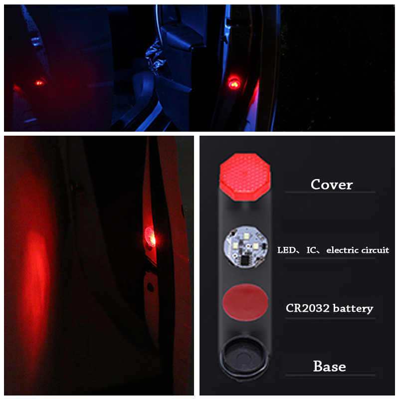 Detail Feedback Questions About Overe Car Door Led Warning Lights
