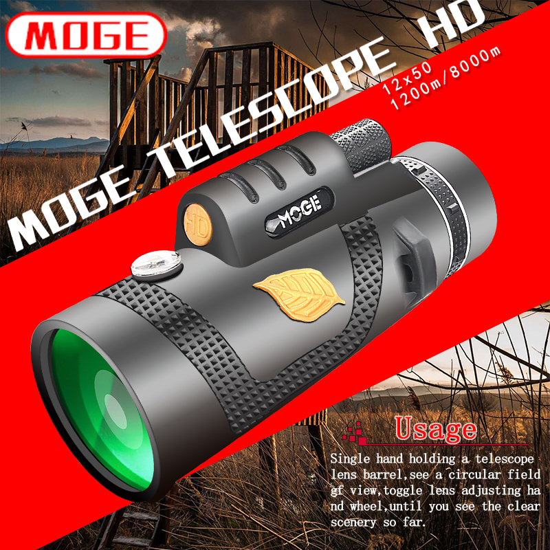 Powerful Binoculars Telescope Hunting Professional Handheld Night-Vision Military-Hd