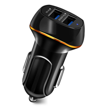 2USB Car Charger 3.1A max Fast Charge For iphone 6 6s 7 X pl